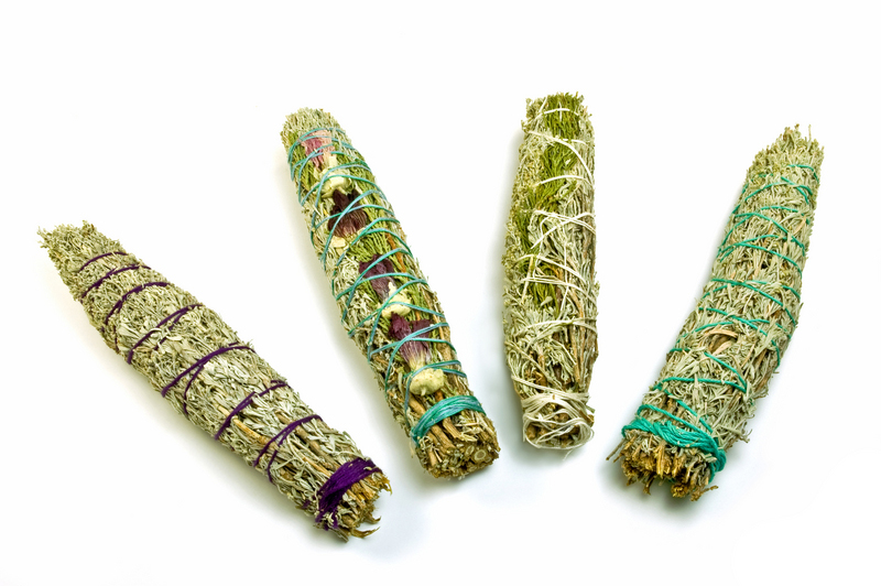 different types of smudge sticks
